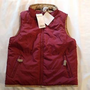 Gymboree reversible vest